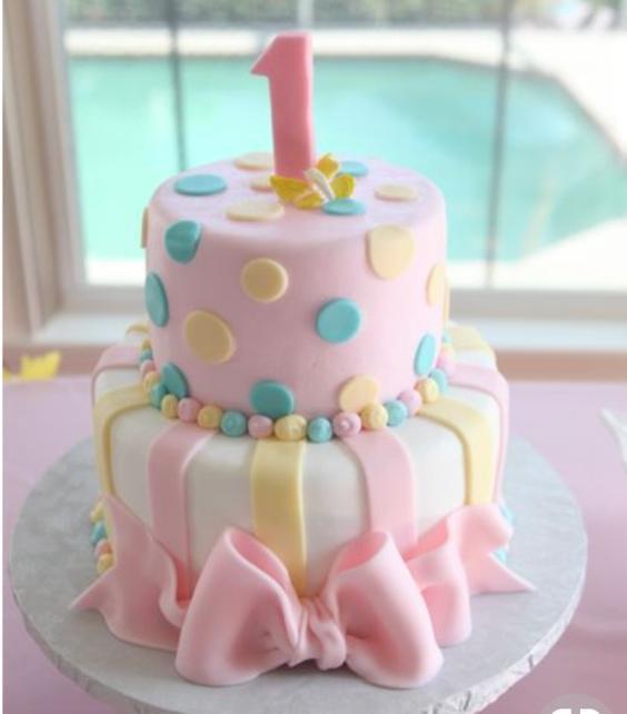 Sugar Fondant Ruffle cake