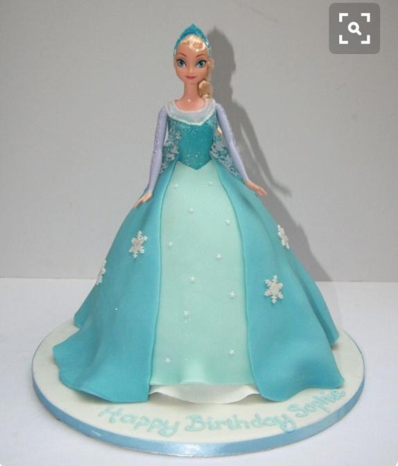 Ellsa Doll cake